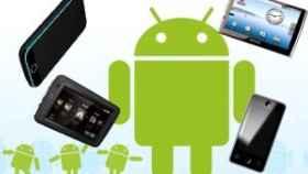 Android corriendo en un iPhone y en un falso iPad