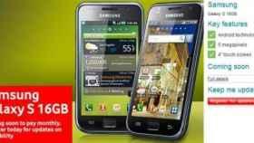 Samsung Galaxy S acercándose a España