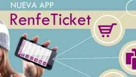 RenfeTicket, la aplicación oficial de Renfe gestiona tus billetes de tren desde tu móvil