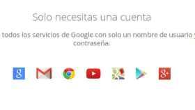 ¿Se pueden usar todos los servicios de Google en Android sin una cuenta de GMail?