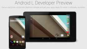 Ya disponible para descargar Android L Developer Preview