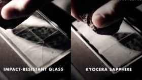 Kyocera está desarrollando un smartphone con pantalla de zafiro