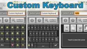 El teclado personalizable Fastest Custom Keyboard, para que uses cualquier símbolo o caracter