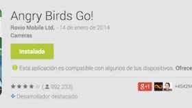 La versión web de Google Play ahora indica si una aplicación contiene compras integradas