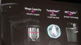 La lavadora inteligente que parece un transformer y se controla desde tu Android