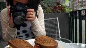 fotografiando comida