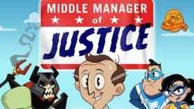 Gestiona tus superhéroes y lucha contra el mal en Middle Manager of Justice
