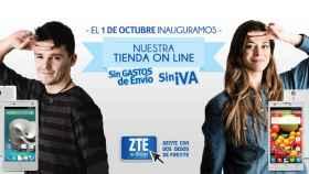 ZTE confirma su apuesta por España: nueva tienda online el 1 de Octubre