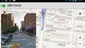 Visualiza un mapa de Google Maps y Street View de forma simultánea con Instago