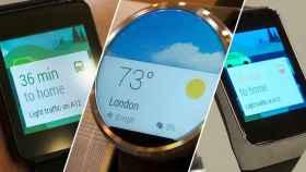 No todos los Android Wear serán iguales: Los fabricantes podrán crear su propia interfaz