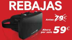 Lakento MVR, las gafas de realidad virtual rebajadas a 59€