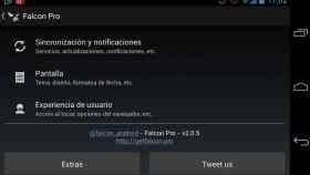 Falcon Pro se actualiza fuera de Google Play: Mejora del modo offline, favoritos y más mejoras