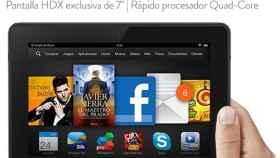 Kindle Fire HDX 7″ ya a la venta