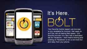 Navega a toda velocidad con BOLT Browser