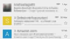 Nueva imagen de la interfaz de Gmail bajo el Proyecto Hera filtrada