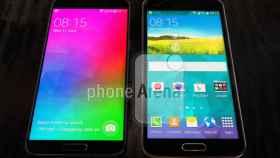 Galaxy F traerá biseles ultradelgados como los del LG G3