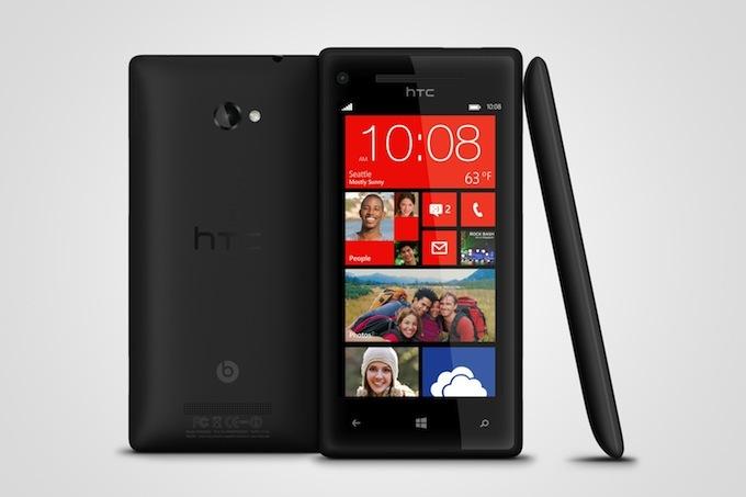 WP 8X by HTC Graphite Black 3views_baja