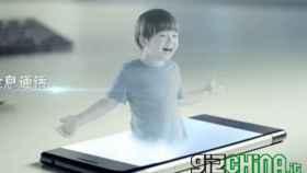 El smartphone con pantalla holográfica será una realidad el mes que viene