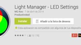 Light Manager, la mejor aplicación para controlar tus LEDs de notificaciones