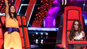 Primeros roces en 'La Voz': saltan chispas entre Malú y Laura Pausini