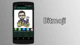 Bitmoji, crea divertidos stickers para compartir con tus amigos