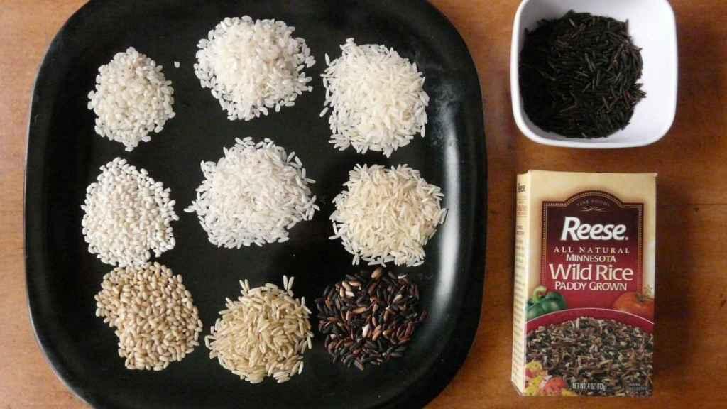 tipos de arroz 1