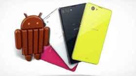 Sony Xperia Z1 Compact comienza a actualizarse a Android 4.4.4 KitKat; Xperia Z1 y Z Ultra confirmados