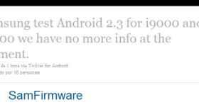 Ya queda menos para Gingerbread (Android 2.3) en Samsung Galaxy S y Galaxy Tab