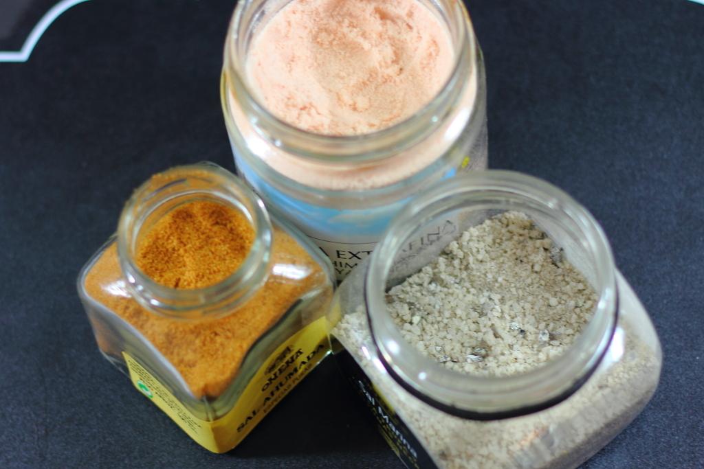 Tipos de sal especiales