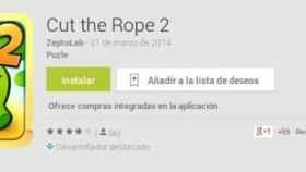 Cut the Rope 2 por fin llega a Android [APK]