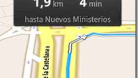 Google Maps Navigation ya disponible en España