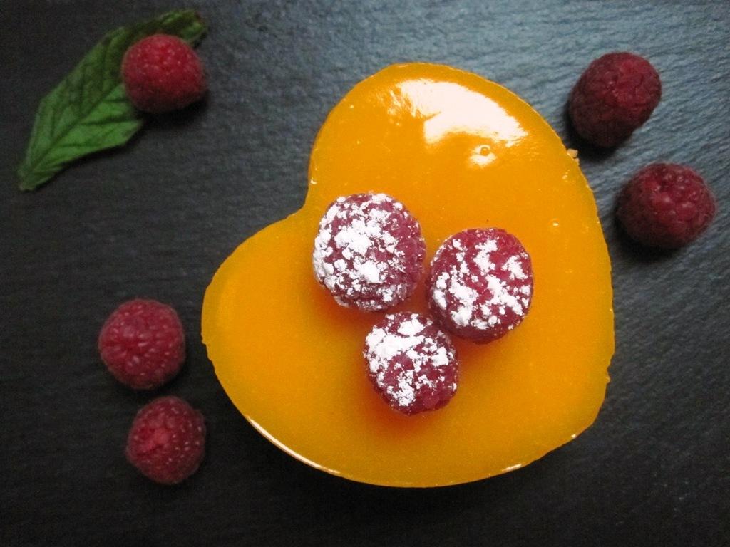 Tarta de queso con cobertura de gelatina de mango 13