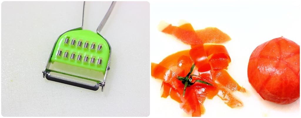 Pelar tomates