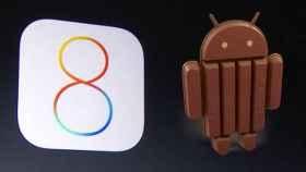 iOS 8 vs Android 4.4 KitKat: enfrentados cara a cara