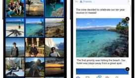 Facebook ahora permite crear historias a partir de tus fotografías