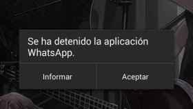 Una vulnerabilidad de WhatsApp permite provocar cierres inesperados a distancia