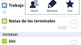 Ya disponible la aplicación de Google Docs para Android