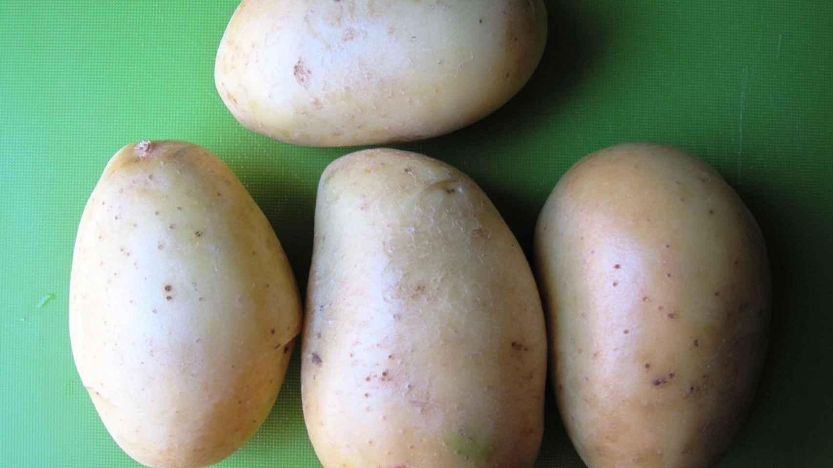 Patatas asadas al estilo Hasselback 1