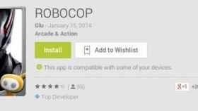 Robocop ejerce su ley en su nuevo juego de acción para Android