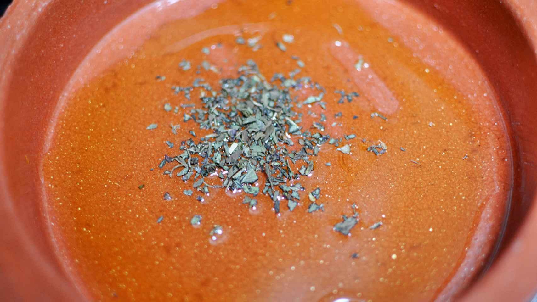 Tomates gratinados, receta para microondas
