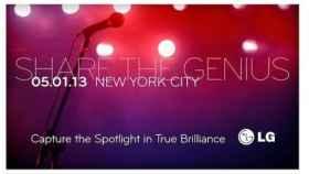 LG planifica un evento para el 1 de mayo: «Share The Genius»