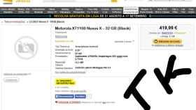 Motorola Nexus X llegaría con pantalla 5,3″, Snapdragon805, Android LMP y desde 420€