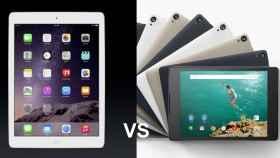 Nuevos iPad vs Nexus 9: el tamaño importa