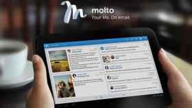 Molto: Cambia tu rutina de leer emails en tu tablet