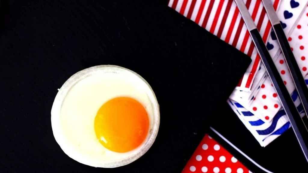 Huevo redondo sin molde