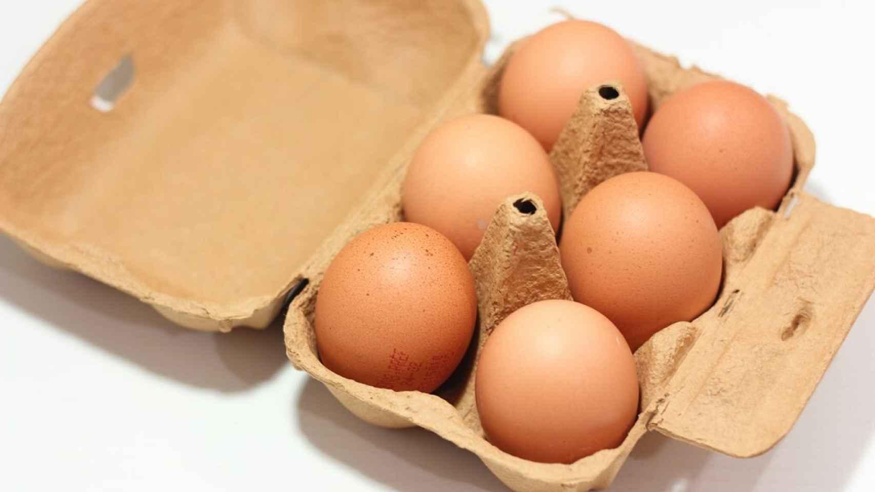 Huevos, protagonistas indiscutibles de este truco.