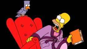 Bart y Homer Simpson parodian 'El cuervo' de Edgard Allan Poe