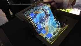 La tablet de 8,7″ FullHD capaz de doblarse en tres partes