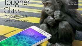 El Samsung Galaxy Alpha es el primer smartphone con protección Gorilla Glass 4