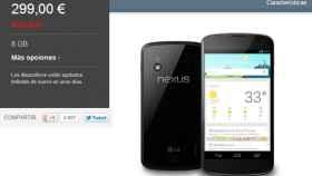 Google da explicaciones sobre la venta del Nexus 4 y la culpa le cae a LG